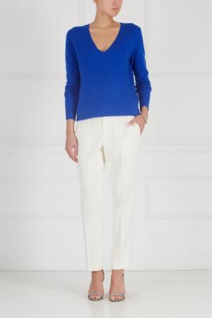 Кашемировый пуловер MYONE. Цвет: синий
