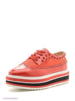 Туфли BALD EAGLE. Цвет: красный