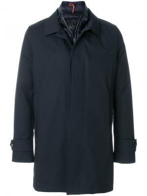 Пальто со стеганой подкладкой Rrd. Цвет: синий
