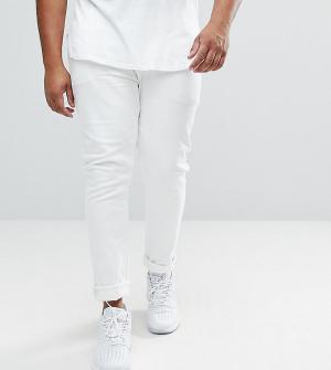 ASOS Белые джинсы скинни PLUS. Цвет: белый