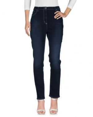 Джинсовые брюки ROBERTA PUCCINI by BARONI. Цвет: синий