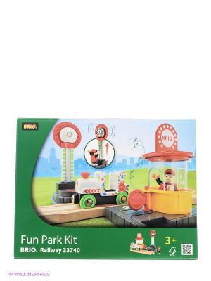 Игровой набор для Парка Аттракционов BRIO. Цвет: белый, желтый