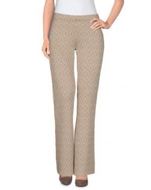 Повседневные брюки CHARLOTT. Цвет: верблюжий