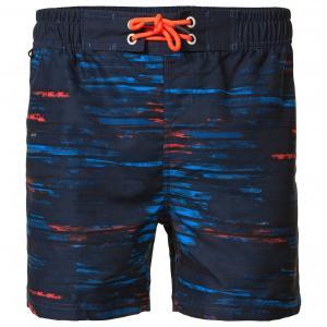 Шорты пляжные с рисунком PETROL INDUSTRIES. Цвет: темно-синий/рисунок,черный наб. рисунок