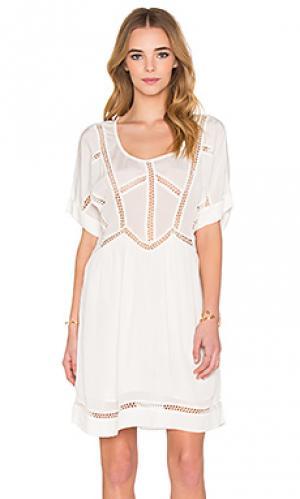 Платье alou NUE 19.04. Цвет: ivory