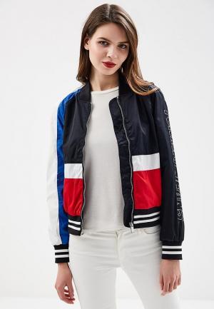 Куртка Tommy Jeans. Цвет: разноцветный