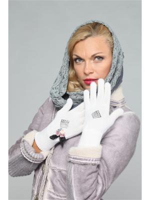 Перчатки Lak Miss. Цвет: белый