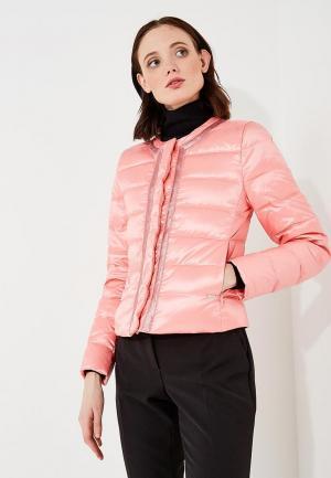 Пуховик Liu Jo. Цвет: розовый