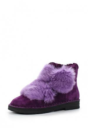 Полусапоги Grand Style. Цвет: фиолетовый
