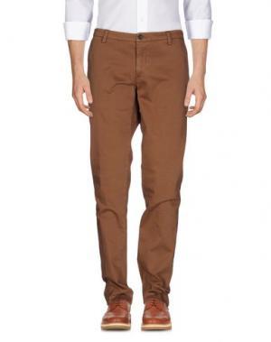 Повседневные брюки NEW ENGLAND. Цвет: хаки