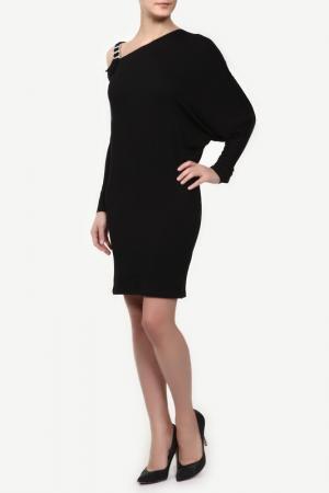 Платье M&L Collection. Цвет: черный