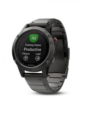 Умные часы Fenix 5X Sappfire серые с металлическим браслетом GARMIN. Цвет: черный, серебристый, серый