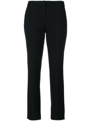 Прямые брюки Dvf Diane Von Furstenberg. Цвет: чёрный