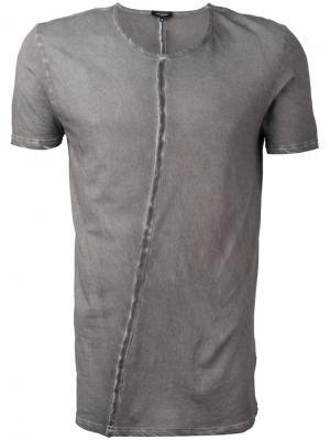 Базовая футболка Unconditional. Цвет: серый