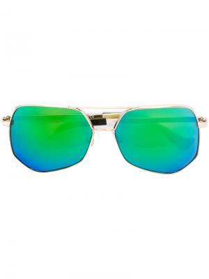 Солнцезащитные очки Megalast Copper Grey Ant. Цвет: металлический