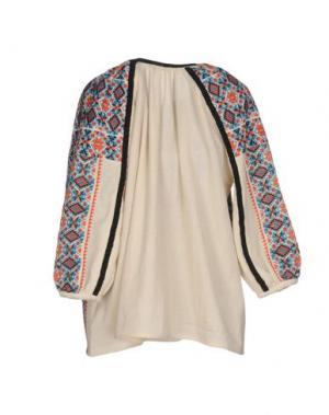 Блузка MANOUSH. Цвет: слоновая кость