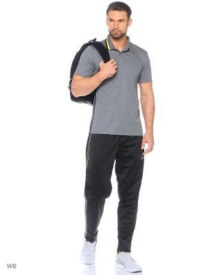 Футболка-поло Condivo 16 CL Polo Adidas. Цвет: серый, желтый, черный