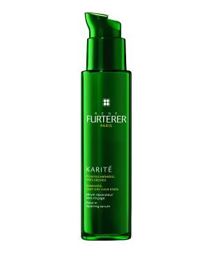 Сыворотка восстанавливающая для кончиков волос Karite, 30мл Rene Furterer. Цвет: прозрачный