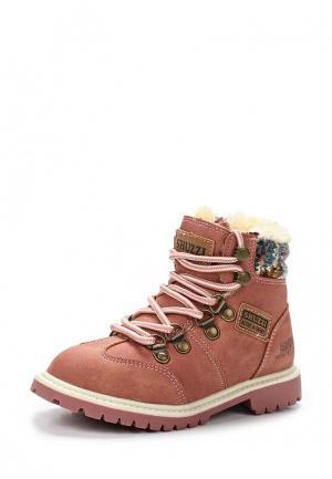 Ботинки Shuzzi. Цвет: розовый