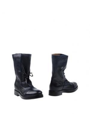 Полусапоги и высокие ботинки LILIMILL. Цвет: темно-синий