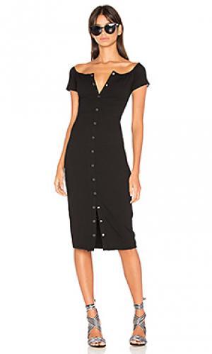 Платье rue Privacy Please. Цвет: черный