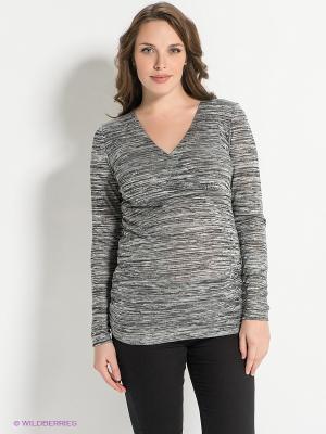 Пуловер Mama Licious. Цвет: серый
