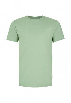 Футболка Topman. Цвет: зеленый
