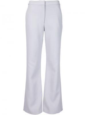 Расклешенные брюки Sally Lapointe. Цвет: синий