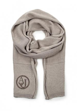 Шарф Armani Jeans. Цвет: серый