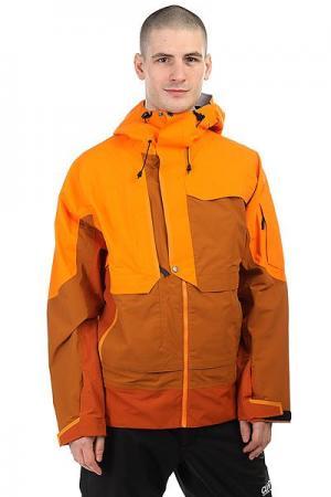 Куртка утепленная  Gear Beast Sunrise Trew. Цвет: оранжевый,коричневый