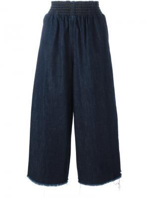 Широкие джинсы Montery Rachel Comey. Цвет: синий