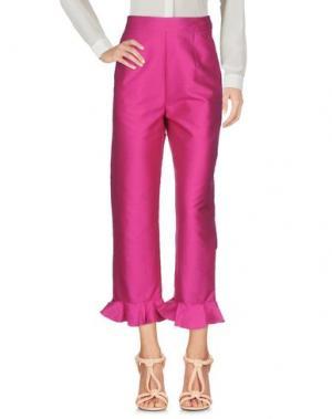 Повседневные брюки ISA ARFEN. Цвет: фуксия