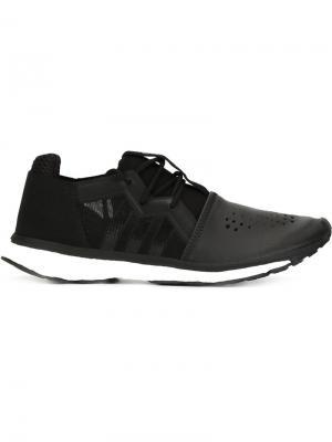 Перфорированные кроссовки Y-3. Цвет: чёрный