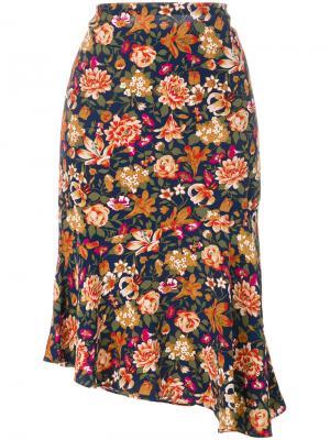 Плиссированная юбка с цветочным принтом Vanessa Bruno. Цвет: многоцветный
