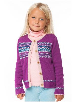 Жакет VILATTE. Цвет: морская волна, бледно-розовый, темно-зеленый, фиолетовый, фуксия