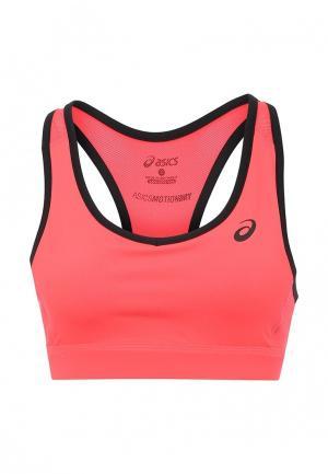 Топ спортивный ASICS. Цвет: розовый