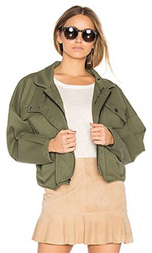 Куртка piper Marissa Webb. Цвет: военный стиль