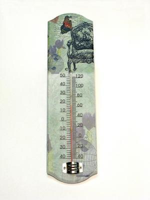 Термометр стеклянный Magic Home. Цвет: белый