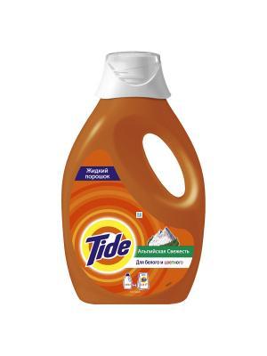 Жидкий Порошок Tide Альпийская свежесть 0.975л. Цвет: оранжевый