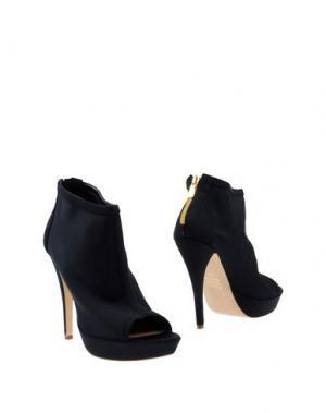 Полусапоги и высокие ботинки LA FILLE des FLEURS. Цвет: черный