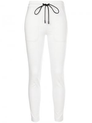 Slim-fit track pants The Reracs. Цвет: белый