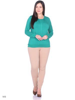 Блузка Magwear. Цвет: зеленый