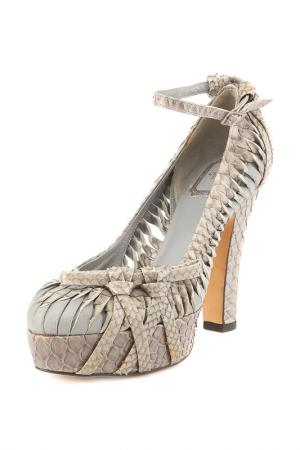 Туфли Dior. Цвет: серый
