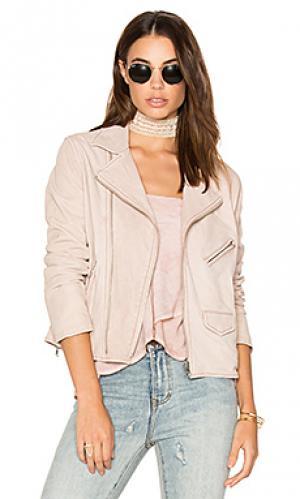 Куртка vintage mc June. Цвет: розовый