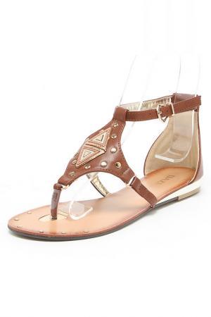 Туфли открытые Daze. Цвет: оранжевый