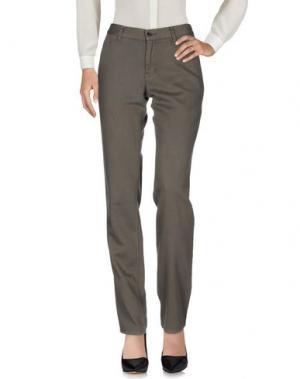 Повседневные брюки ZUCCA. Цвет: свинцово-серый