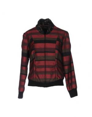 Куртка PAUSE CAFÉ. Цвет: красно-коричневый