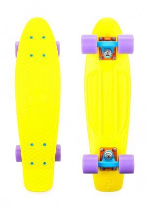 Скейтборд Penny. Цвет: желтый