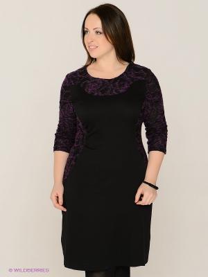 Платье MAFUERTA. Цвет: темно-фиолетовый