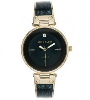 Часы с браслетом из керамики и металла Anne Klein